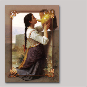post-er-card – William-Adolphe Bouguereau