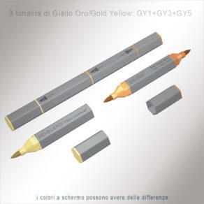 TriBlend Brush – Giallo Oro/Gold Yellow