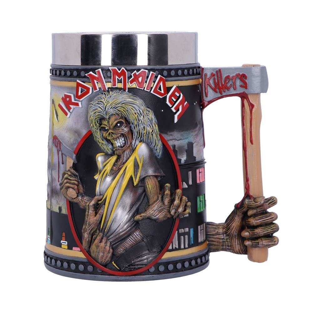 Iron Maiden The Killers Tankard 15.5cm