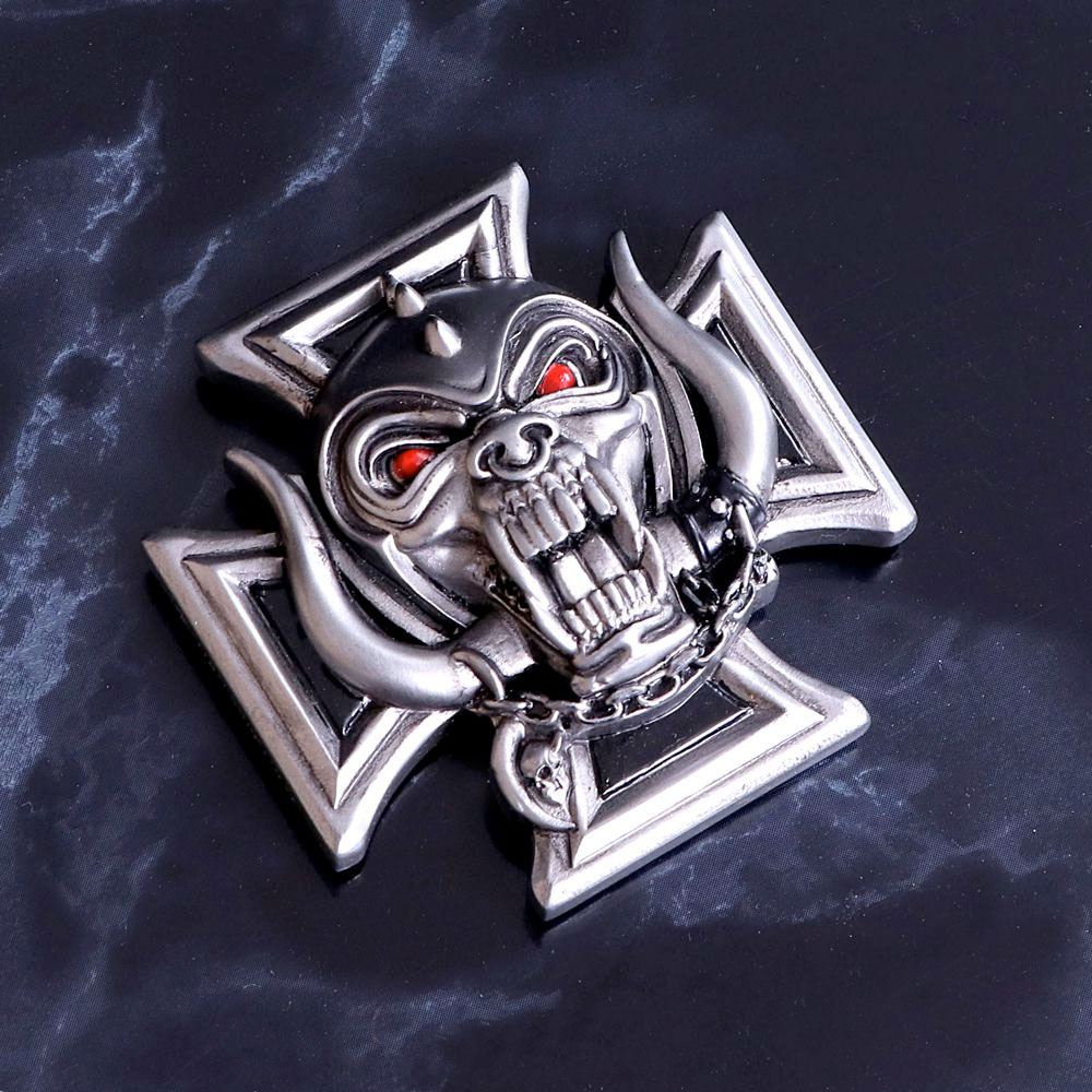 Motorhead Iron Cross Magnet 6cm 2