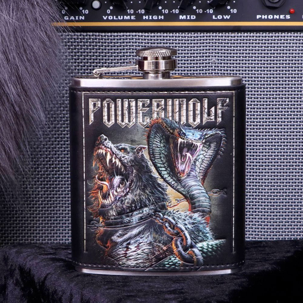 Powerwolf Hip Flask 2