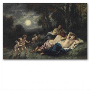 Il sonno delle ninfe di notte – Narcisse Diaz